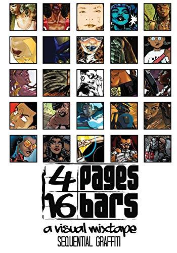 9781941958230: 4 Pages   16 Bars: A Visual Mixtape Presents: Sequential Graffiti