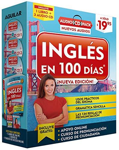 9781941999912: Inglés En 100 Días - Curso de Inglés - Audio Pack (Libro + 3 CD's Audio) / English in 100 Days Audio Pack