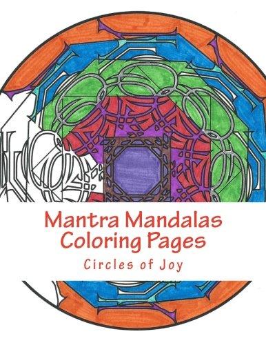9781942005117: Mantra Mandalas Coloring Pages Vol. 5: Circles of Joy (Volume 5)