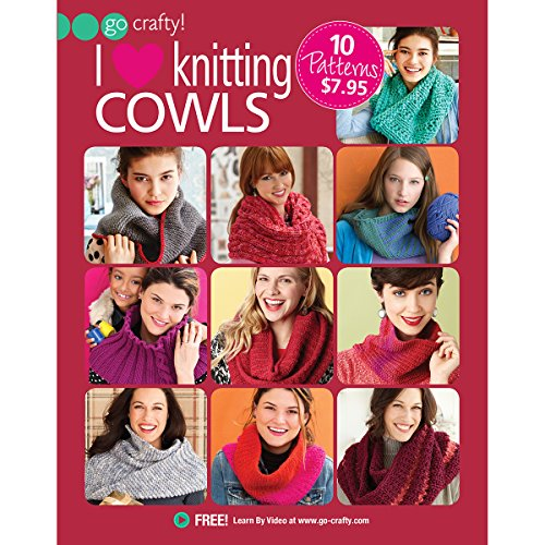 9781942021056: I Love Knitting Cowls (Go Crafty!)