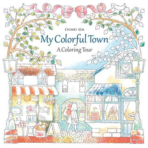 9781942021599: My Colorful Town: A Coloring Tour