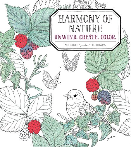9781942021940: Harmony of Nature: Unwind. Create. Color.
