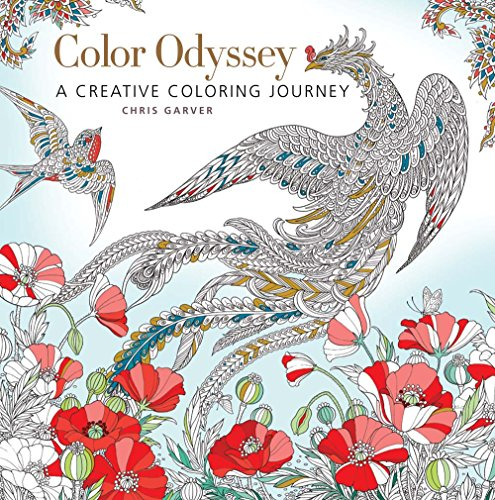 Color Odyssey: A Creative Coloring Journey: Chris Garver