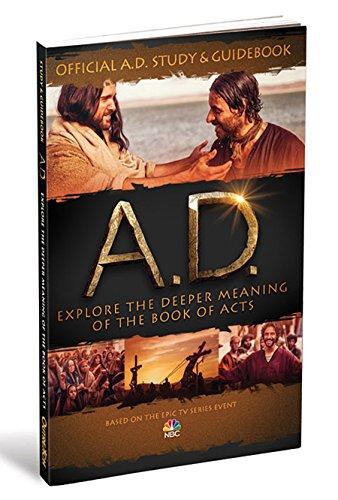 Official A.D. Study & Guidebook a 12-Week: Jones, Jeremy