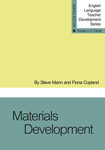 9781942223467: Materials Development (English Language Teacher Development Series)