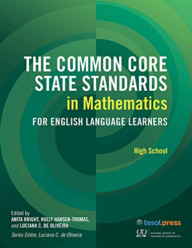 9781942223597: Common Core State Standards in Math, High School (CCSS for Ells)