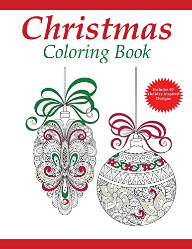 9781942268215: Christmas Coloring Book: A Holiday Coloring Book for Adults (Adult Coloring Books) (Volume 1)