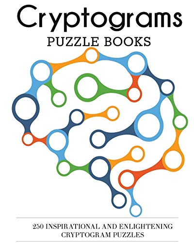 9781942268994: Cryptograms Puzzle Books: 250 Inspirational and Enlightening Cryptogram Puzzles (Cryptogram Puzzles for Adults)
