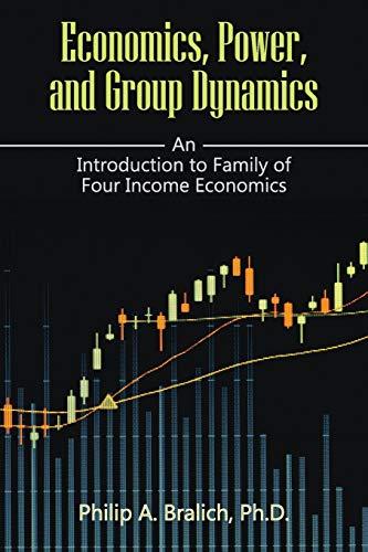 9781942296928: Economics, Power, and Group Dynamics