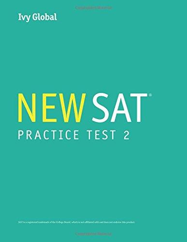 9781942321880: Ivy Global's New SAT 2016 Practice Test 2