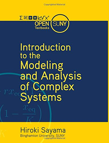 9781942341086: Introduction to the Modeling and Analysis of Complex Systems