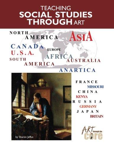 9781942446071: Teaching Social Studies Through Art Book