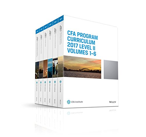 9781942471868: CFA Program Curriculum 2017 Level II, Volumes 1-6 (CFA Curriculum 2017)