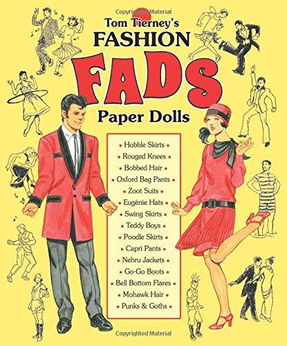 9781942490128: Tom Tierney's Fashion Fads Paper Dolls