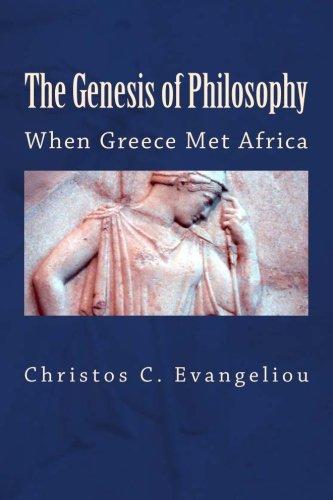 9781942495055: The Genesis of Philosophy: When Greece Met Africa