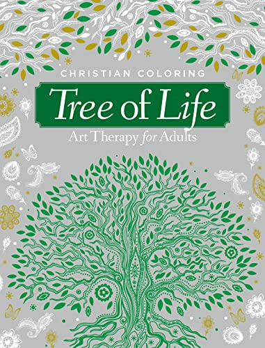 9781942556558: Tree of Life: Art Therapy for Adults (Christian Coloring)