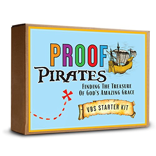 9781942572299: PROOF Pirates: Finding the Treasure of God's Amazing Grace VBS Starter Kit