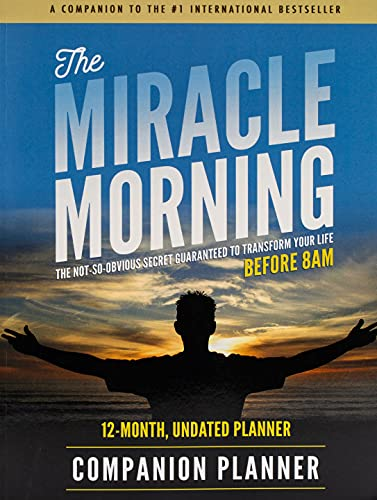 The Miracle Morning Companion Planner: Hal Elrod