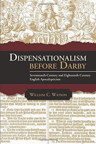 9781942614036: Dispensationalism Before Darby