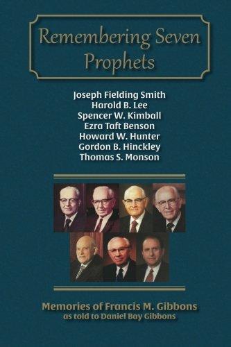9781942640080: Remembering Seven Prophets