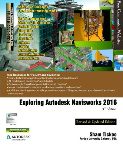 9781942689089: Exploring Autodesk Navisworks 2016, 3rd Edition