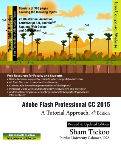 9781942689256: Adobe Flash Professional CC 2015: A Tutorial Approach