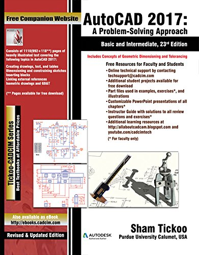 9781942689324: AutoCAD 2017: A Problem-Solving Approach, Basic and Intermediate