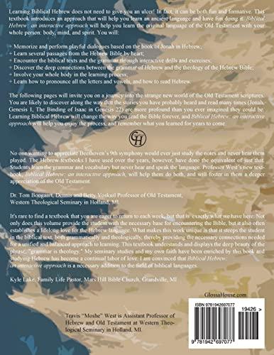 9781942697077: Biblical Hebrew: An Interactive Approach