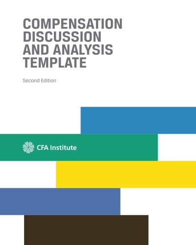 9781942713050: Compensation Discussion and Analysis Template: Second Edition