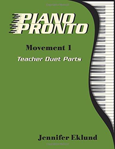 9781942751007: Piano Pronto® Teacher Duets: Movement 1