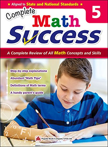 9781942830047: Complete Math Success Grade 5