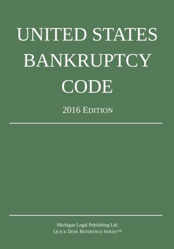 9781942842033: United States Bankruptcy Code; 2016 Edition