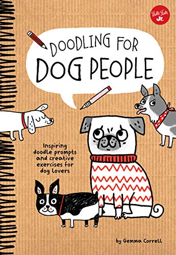 Doodling for Dog People (Library Binding): Gemma Correll