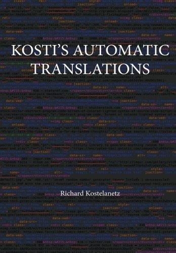 9781943068517: Kosti's Automatic Translations