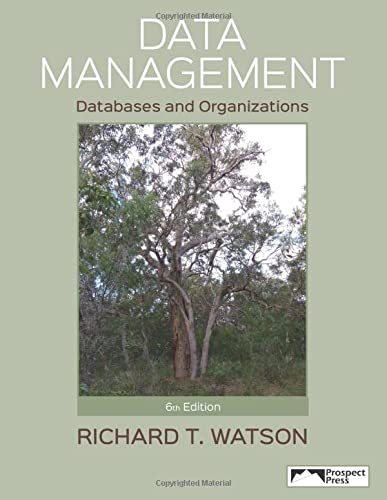 9781943153039: Data Management : Databases and Organizations