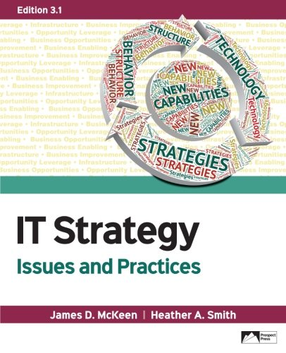 IT Strategy: Issues and Practice, Edition 3.1: James D. McKeen