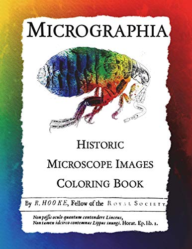 Micrographia: Historic Microscope Images Coloring Book (Historic: Frankie Bow
