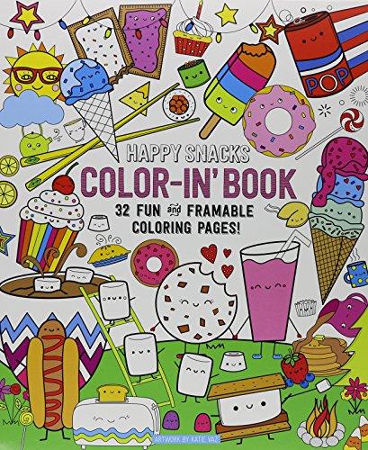 9781943498031: Color Bk-Happy Snacks Color-In
