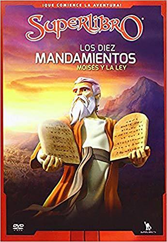 Los Diez Mandamientos: Moises y La Ley (Superbook): Cbn; Superbook
