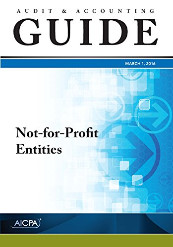 9781943546435: Not-for-Profit Entities - Audit and Accounting Guide