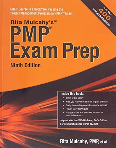 9781943704040: PMP Exam Prep: Accelerated Learning to Pass the Project Management Professional (PMP) Exam