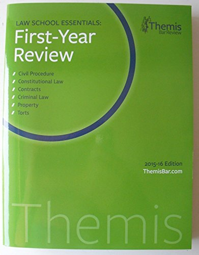 9781943808540: Law School Essentials 1st Year Review