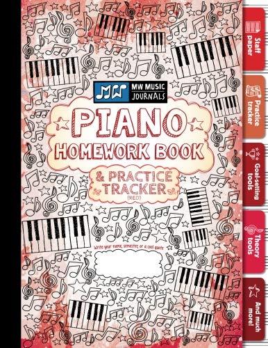 Piano Homework Book and Practice Tracker for: Meridee Winters