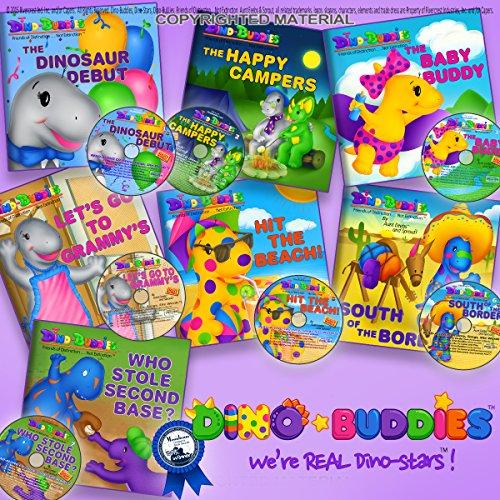 9781943836413: Dino-Buddies Complete Series Read-Along Set (7 Books +7 CDs)