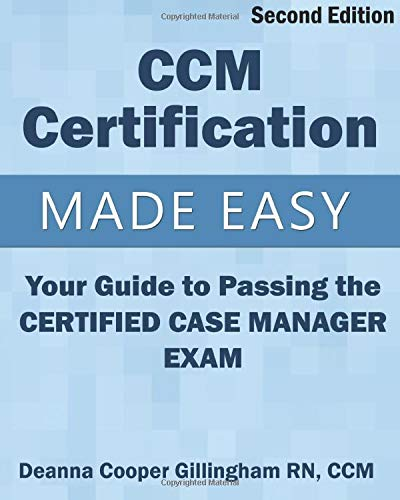 9781943889020: ccm certification made easy: your guide to passing ...