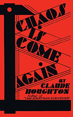 9781943910175: Chaos Is Come Again (Valancourt 20th Century Classics)