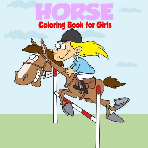 9781944287986: Horse Coloring Book for Girls
