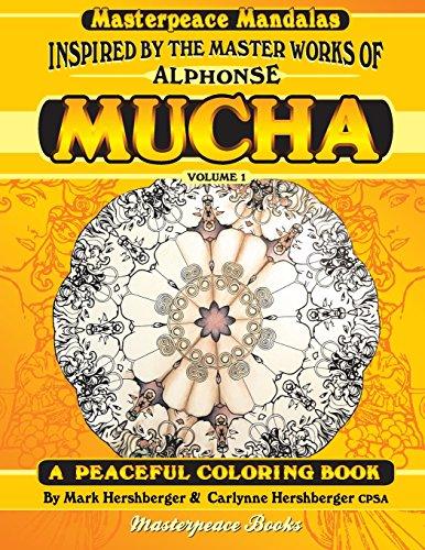 9781944381059: Mucha Masterpeace Mandalas Coloring Book Volume 1