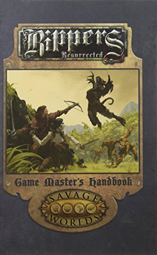 9781944413033: Rippers Resurrected Game Master's Handbook Limited Edition (Hardcover, S2P10321LE)