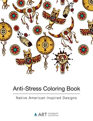9781944427085: Anti-Stress Coloring Book: Native American Inspired Designs (Volume 9)